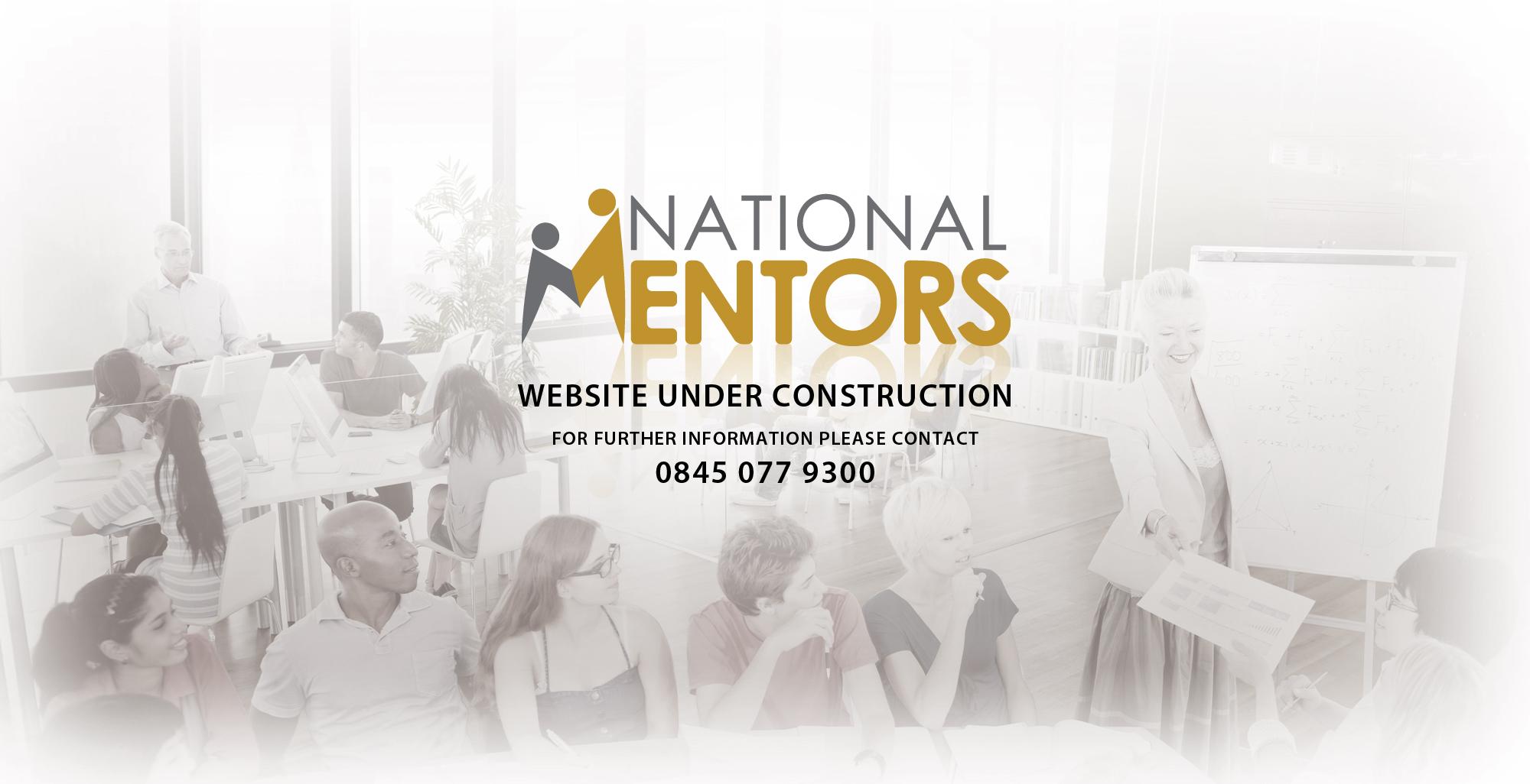 National Mentors Website Under Construction